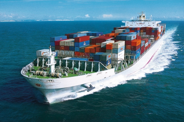 Ocean freight containerized cargo